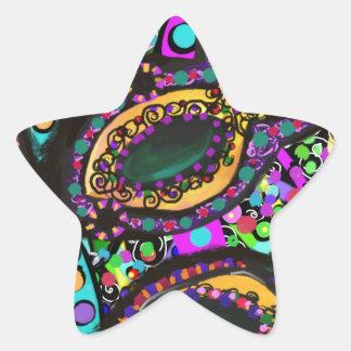 Adesivo Estrela Cirque du Arte