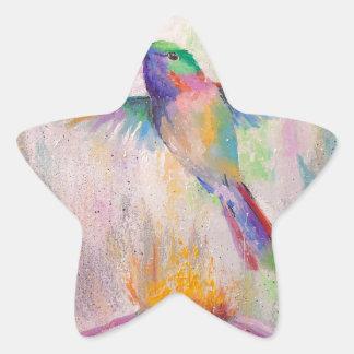 Adesivo Estrela Colibri do vôo