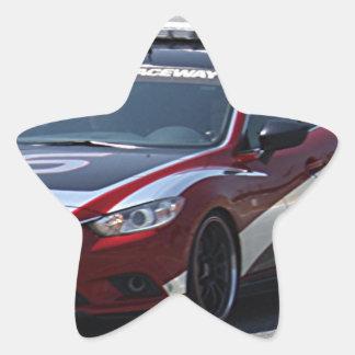 Adesivo Estrela Competência de carro de esportes auto
