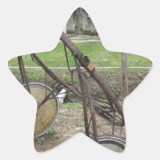 Adesivo Estrela Competindo sulky usado na competência de chicote