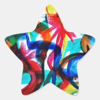 Adesivo Estrela Complicado