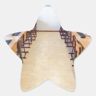 Adesivo Estrela Computadores na sala de aula da educação holandesa