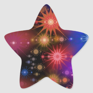 Adesivo Estrela Conjuntos de estrela