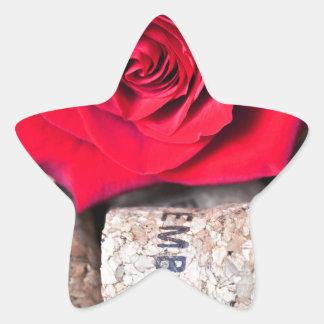 Adesivo Estrela CONVERSAS ROSA with cork