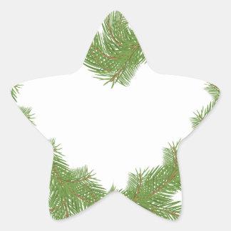 Adesivo Estrela coração da árvore