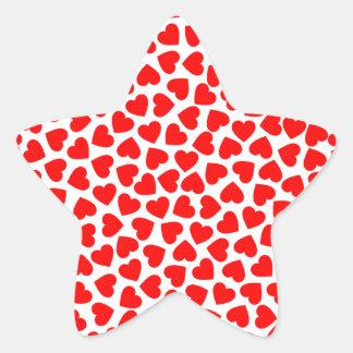 Adesivo Estrela Corações do coração