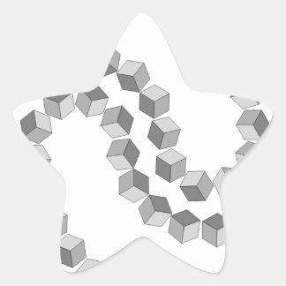 Adesivo Estrela Corrente de bloco