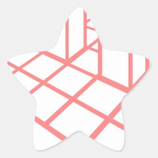 Adesivo Estrela Crescimento da carta