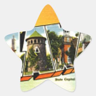 Adesivo Estrela Cumprimentos de Delaware