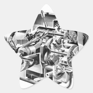 Adesivo Estrela Cutaway do Airhead