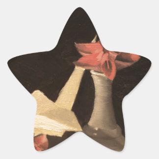 Adesivo Estrela De Origami vida ainda