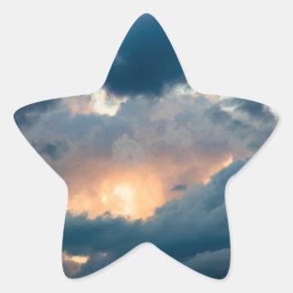 Adesivo Estrela de volta à mostra adiantada