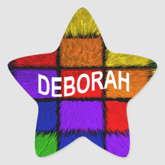 ADESIVO ESTRELA DEBORAH