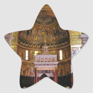 Adesivo Estrela Dentro da igreja yeah