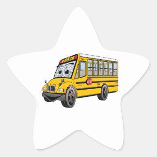Adesivo Estrela Desenhos animados 2017 do auto escolar