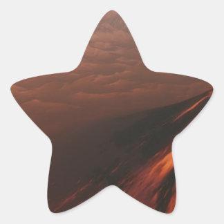 Adesivo Estrela Deserto estrangeiro do planeta