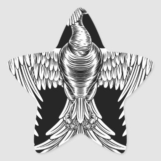 Adesivo Estrela Design do pássaro do fogo de Phoenix