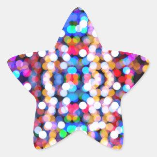 Adesivo Estrela design novo do Natal