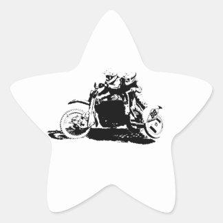 Adesivo Estrela Design simples de Sidecarcross