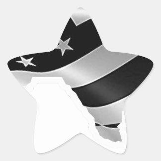 Adesivo Estrela Design txt.gif branco de Harvey