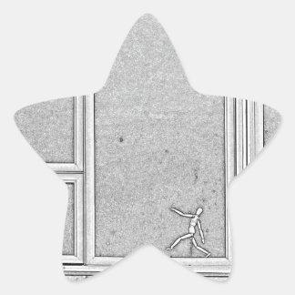 Adesivo Estrela dimensão