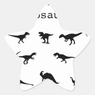 Adesivo Estrela Dinossauro