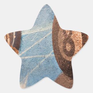 Adesivo Estrela Disparado da ilustração das bolas de bilhar na