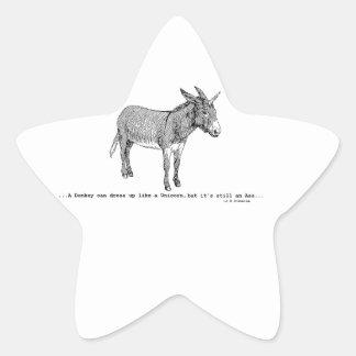 Adesivo Estrela DIY DonkeyUnicorn ver2