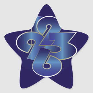 Adesivo Estrela em torno do pulso de disparo