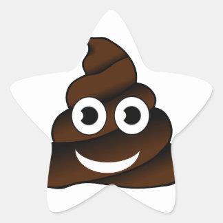 Adesivo Estrela emoji engraçado do tombadilho