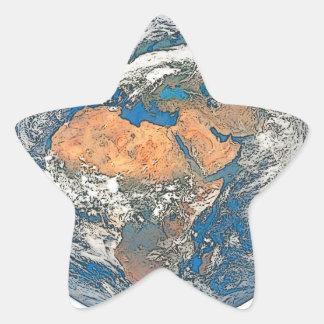 Adesivo Estrela Enterre a vista focalizada no berço da civilização