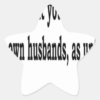 Adesivo Estrela Eph. 5:22