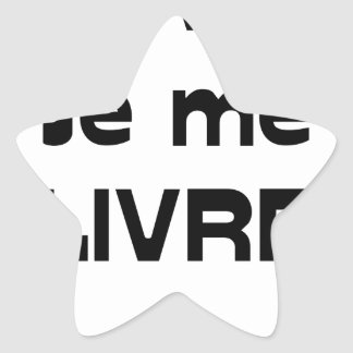 Adesivo Estrela ESCRITOR, ENTREGO-ME - Jogos de Palavras