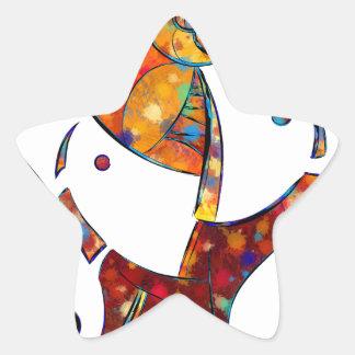 Adesivo Estrela Espanessua - flor espiral imaginária