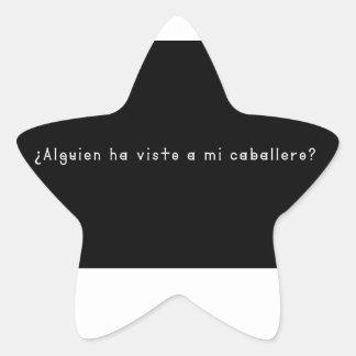 Adesivo Estrela Espanhol-Cavaleiro
