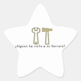Adesivo Estrela Espanhol-Ferreiro