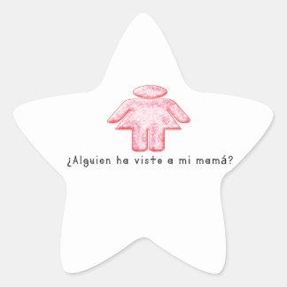 Adesivo Estrela Espanhol-Momma