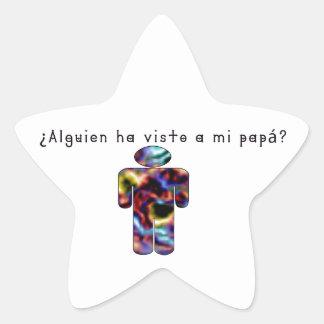 Adesivo Estrela Espanhol-Pai