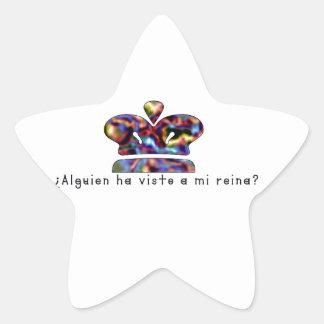Adesivo Estrela Espanhol-Rainha