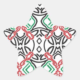 Adesivo Estrela Estampa celta nº 2