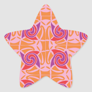 Adesivo Estrela Estampa celta nº 5