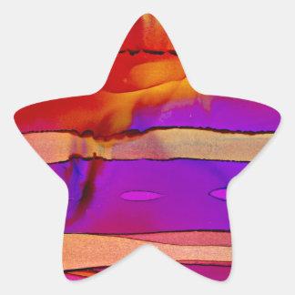 Adesivo Estrela estratos do sudoeste