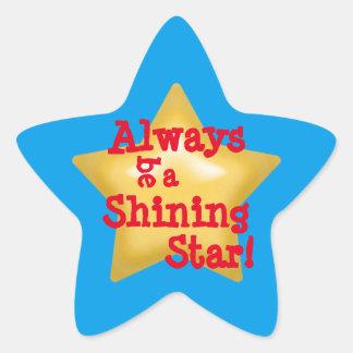 Adesivo Estrela Estrela de brilho