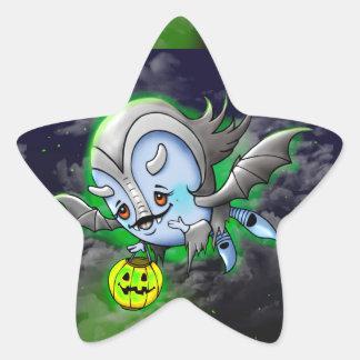 Adesivo Estrela ESTRELA REDONDA pequena, 1 ½ do monstro da