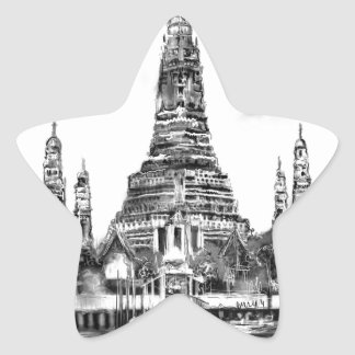 Adesivo Estrela Eu amo Banguecoque