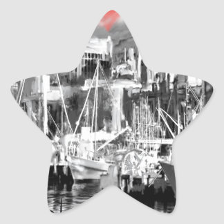 Adesivo Estrela Eu amo Hobart