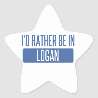 Adesivo Estrela Eu preferencialmente estaria em Logan