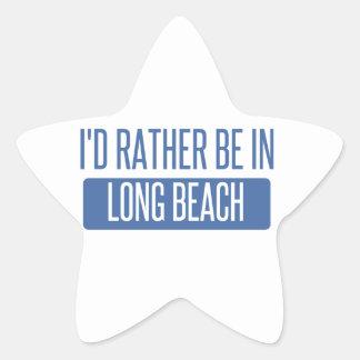 Adesivo Estrela Eu preferencialmente estaria em Long Beach CA