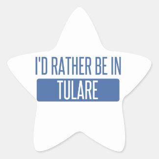 Adesivo Estrela Eu preferencialmente estaria em Tulare