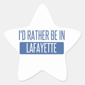 Adesivo Estrela Eu preferencialmente estaria no LA de Lafayette